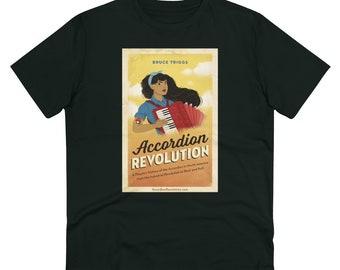Accordion Revolution, Unisex T-shirt, Organic Cotton