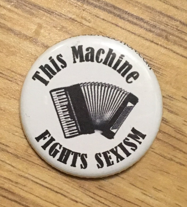 Piano Accordion This Machine Fights Sexism image 0