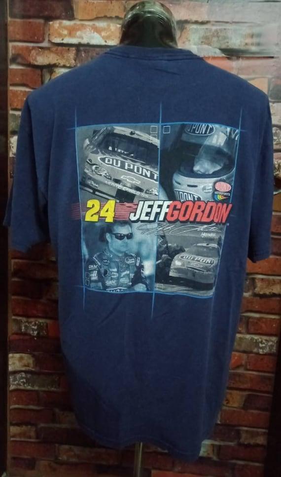 Vintage 90's Nascar Jeff Gordon Tshirt