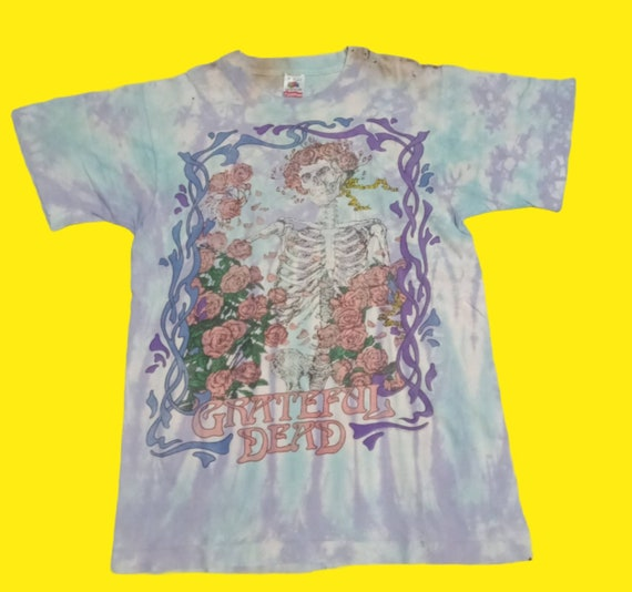 Vintage 90's Greatful dead tie dye shirt