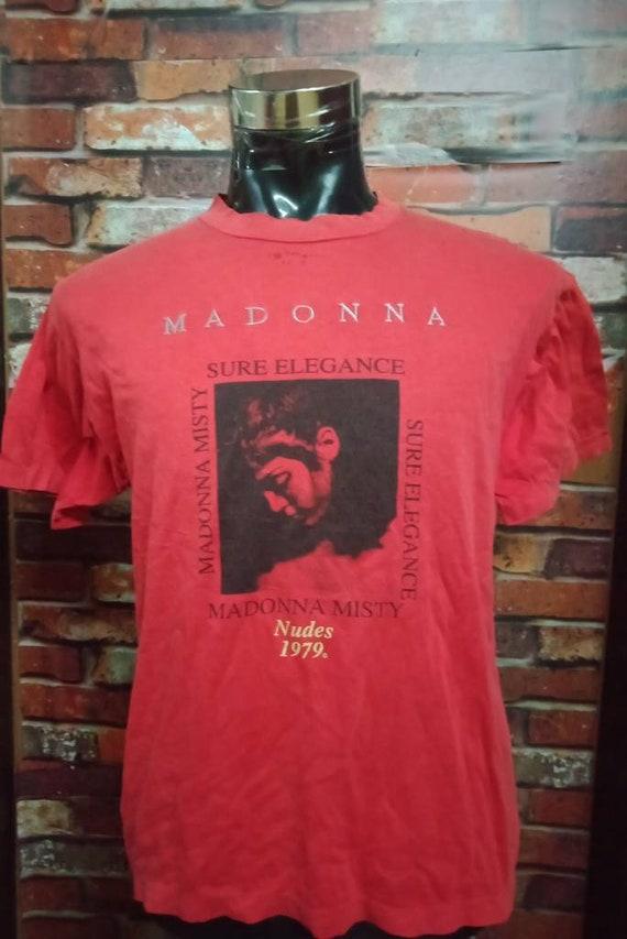 Vintage 80's Madonna Band shirt - image 1