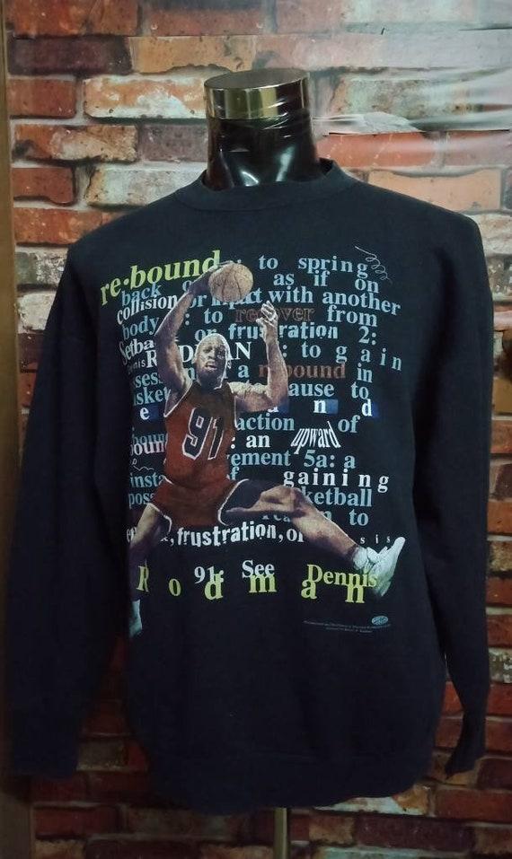 Vintage 90's Dennis Rodman Sweatshirt L size