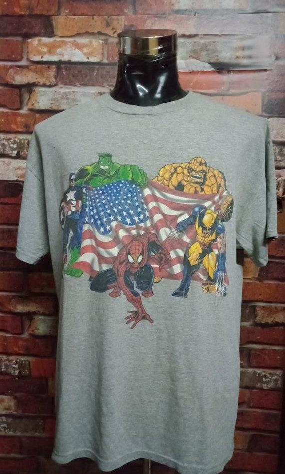Vintage Marvel Tshirt