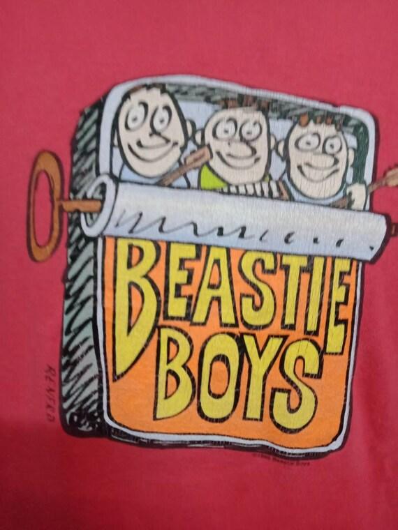 Vintage 90's Beastie Boys Rap Tee - image 2