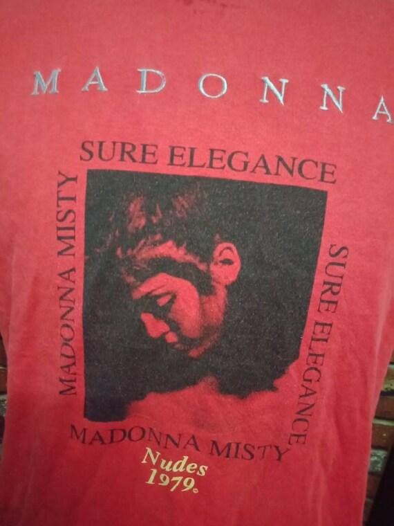 Vintage 80's Madonna Band shirt - image 2