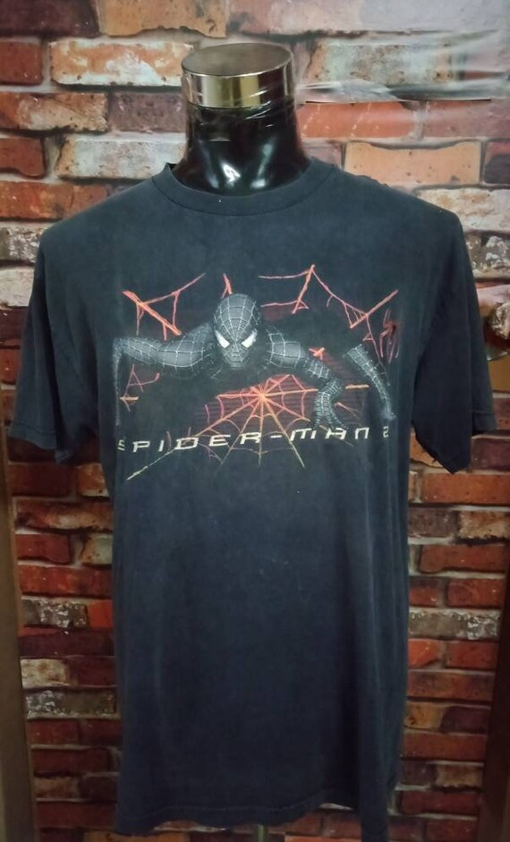 Vintage Spiderman movies tshirt
