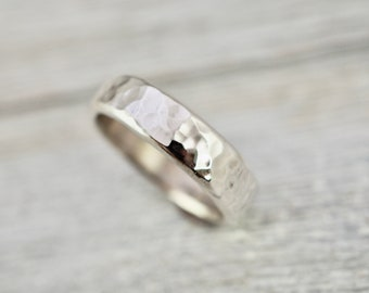 Heavy sterling silver ring | Silver wedding ring | Heavy sterling sterling ring | Handmade silver jewellery | Sterling silver ring
