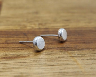 Tiny solid 925 silver studs | Recycled sterling silver earrings | simple silver studs | Mothers day gift | Gift for her| Gift for mum