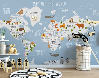 show original title Details about  /3D Brown Vintage 851NAM World Map Wall Sticker Wall Decal Wallpaper Mural Fay
