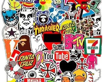 Waterproof Aesthetic Stickers Planner Stickers Bundles Inspirational Sticker Bundle Vinyl Stickers Neutral