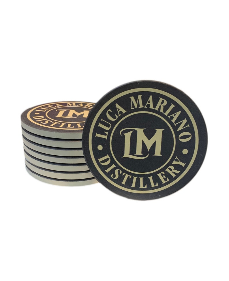 Luca Mariano Distillery Coaster Set of 2 image 0