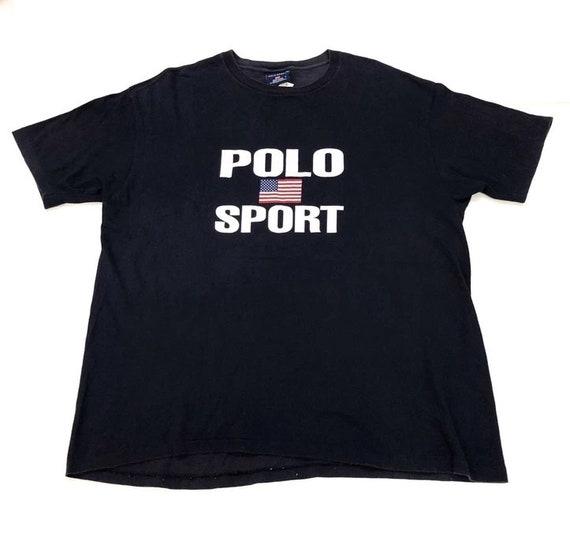 Vintage Polo Ralph Lauren Sport USA T-Shirt