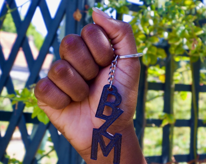 BLM keyrings