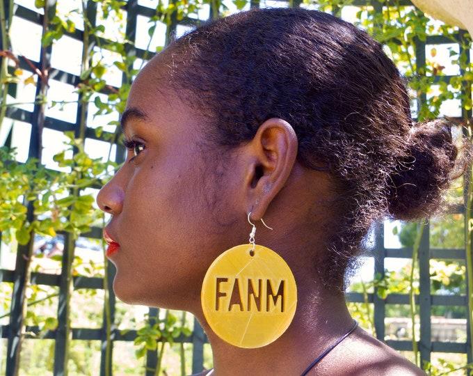 FANM earrings