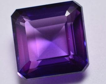 8.75 Ct Cushion Shape Rarest Purple Taaffeite Beautiful Loose Gemstone