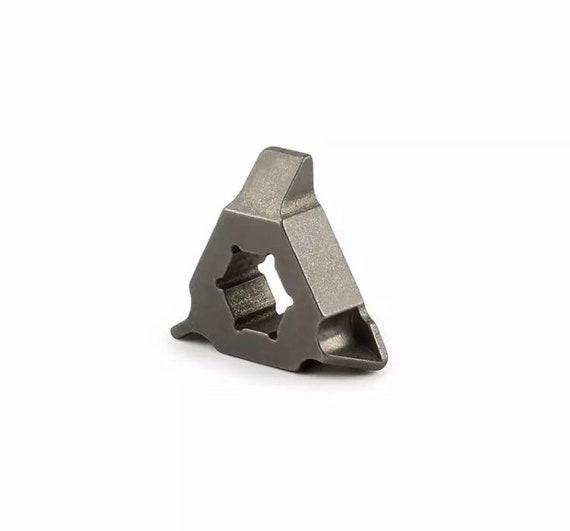 TI SCREWDRIVER #1  Solid Titanium  1x Piece  Raw Titanium