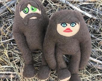 Bigfoot cryptid Plush