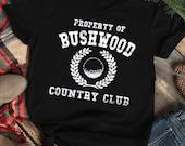 Bushwood Country Club Golf Balls Cart Caddyshack movie Men 39 s Funny Tee Shirt