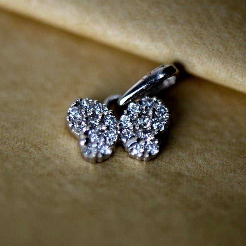 14K Yellow or White Gold Butterfly Pendant
