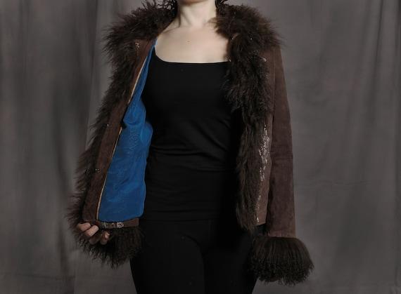 Gypsy, Boho, 70's Suede Jacket