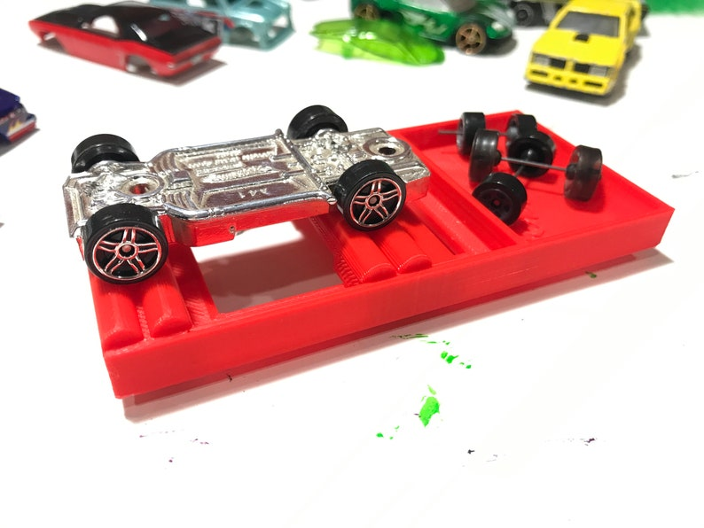 Axle Alignment Jig for Hot Wheels cars image 0