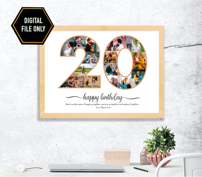unique gift ideas for 20th birthday for daughter