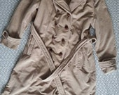 Vintage Women 39 s Beige Coat by Montello By New England Mackintosh union made