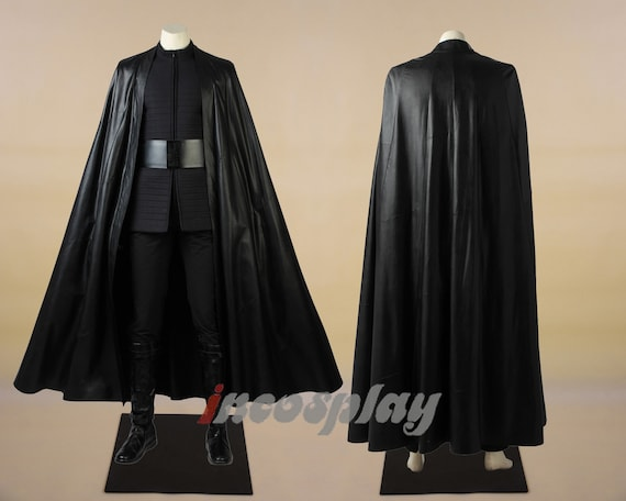 Kylo Ren Cosplay For Star Wars The Last Jedi Costume Etsy
