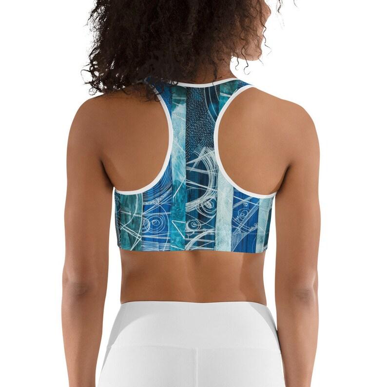 Our Blue Universe Sports bra