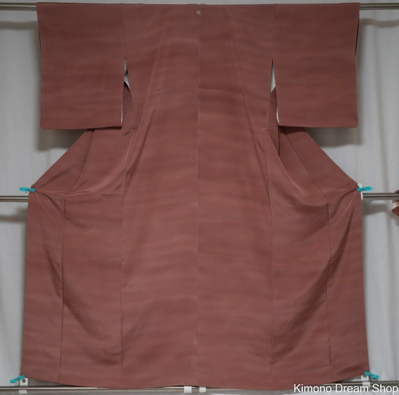Branded Iromuji Kimono - Vintage Silk Formal Japan