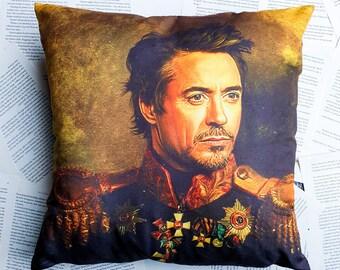 Robert Downey Jr. Smoking Pillow