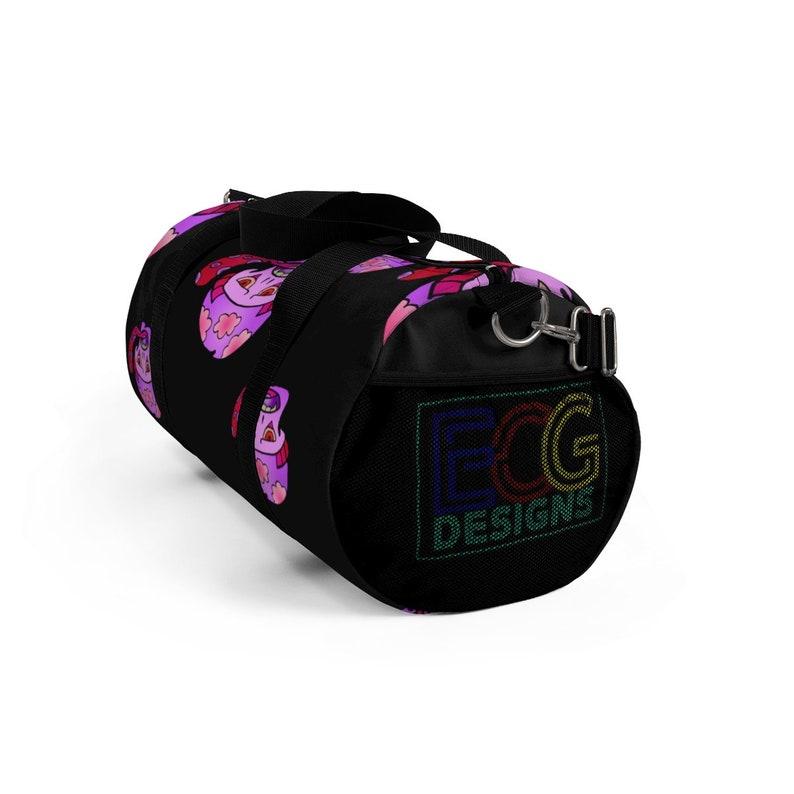 Pink Shroom Duffel Bag