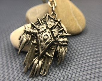 World of Warcraft Orc Emblem Keychain