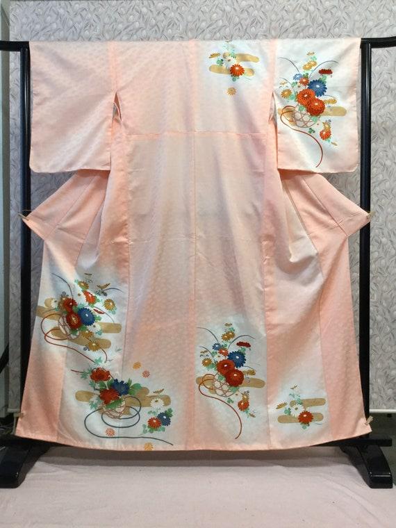 Japanese Vintage Kimono, Traditional Kimono, Kimon