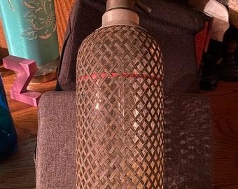 Seltzer Soda Blue Bottle Jenbach Austria #1
