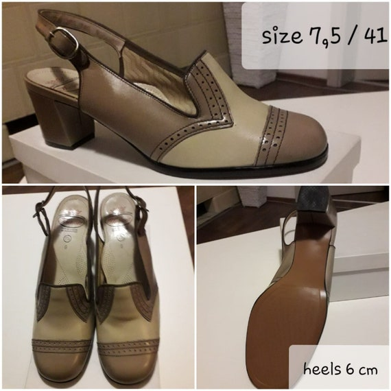 Original 40's DEAD STOCK women shoes