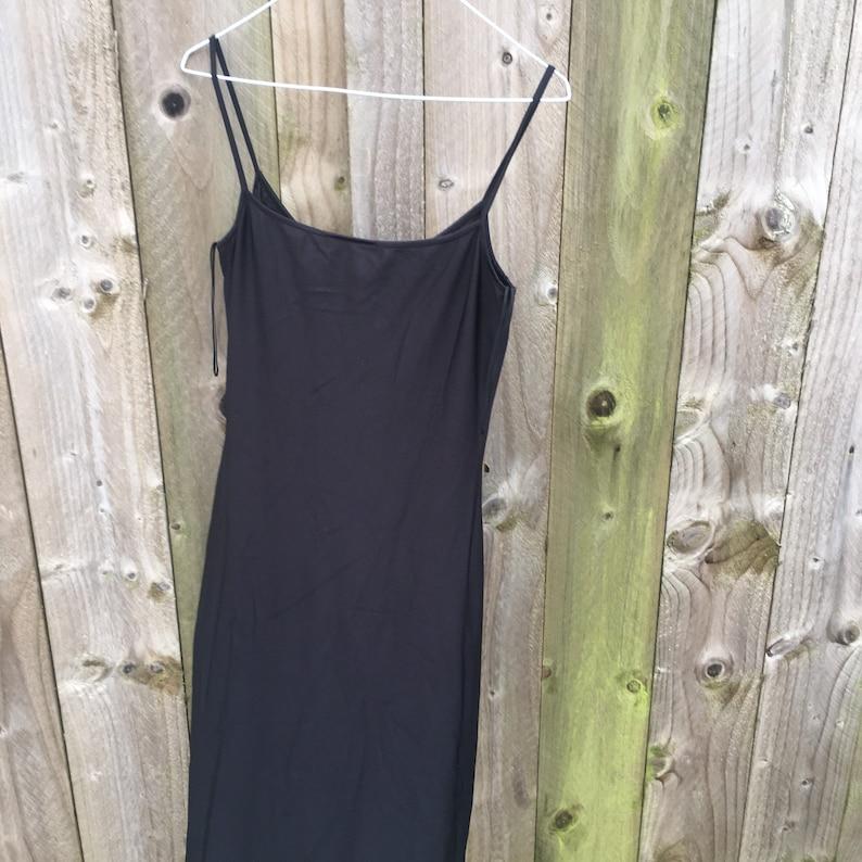 Vintage slip dress y2k evening dress 2000s