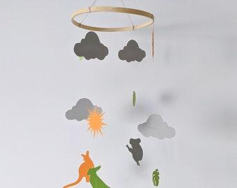 Mobile baby | Animals Australia | Kirigami, cut paper, papercut