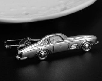 Old Car Vintage Antique Tie Clip-Silver or Gold-Weddings-Gift Box-Handmade-USA-Wedding-Keepsake-Gift-Dad Gift-Men-Automobile-Driver-Racer