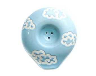 Circle Ceramic Pipe in Clouded
