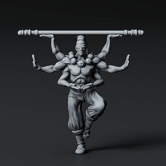 Asura miniature for Dungeons and Dragons
