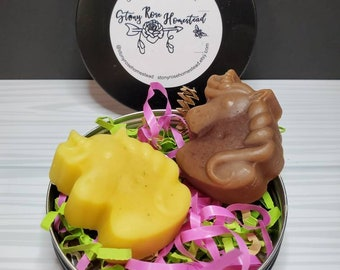 Unicorn Lotion Bar Gift Set -Great for Unicorn, Princess, Magic or Rainbow Themed Party or Gift-
