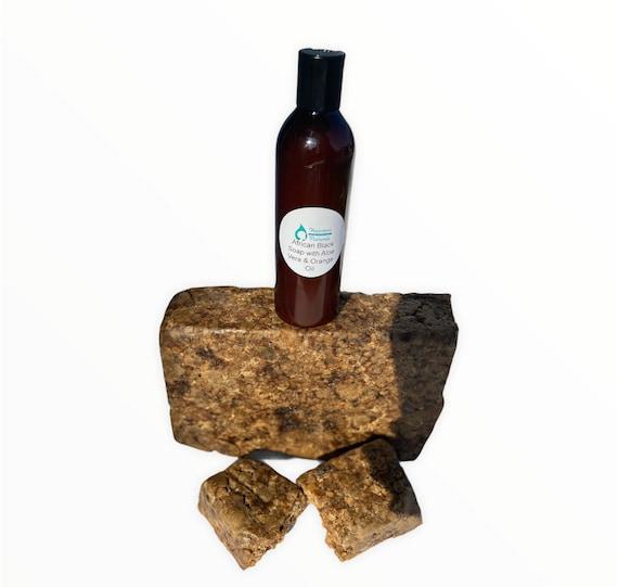 Liquid Black Soap with Aloe Vera & Orange Oil