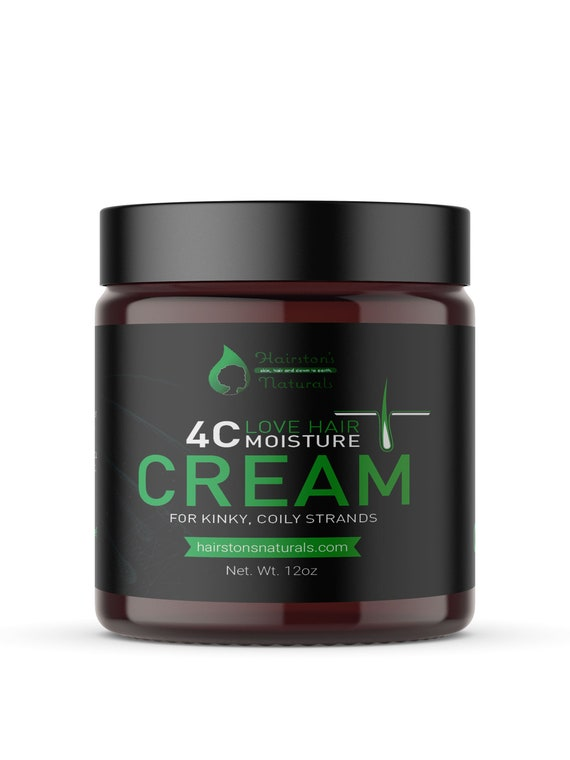4C Hair Moisture Cream for kinky, coily hair