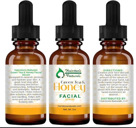 Green tea and Honey Facial Serum