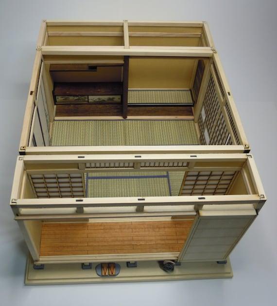 1:12 Scale Dollhouse Miniature Shoji Screen Kit