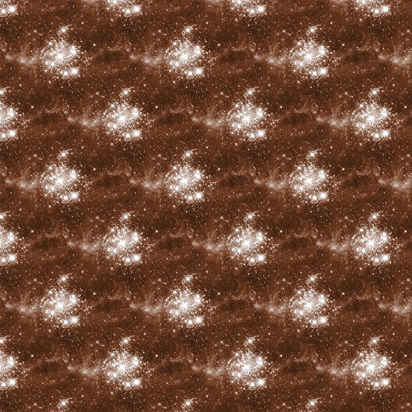 Brown sky galaxy print lycra- velvet- chiffon- scuba -mesh- jersey fabric- print to order - 4 way stretch fabric J282