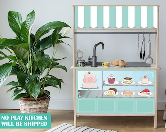 Cake shop decal for IKEA Duktig play kitchen (play kitchen NOT included)