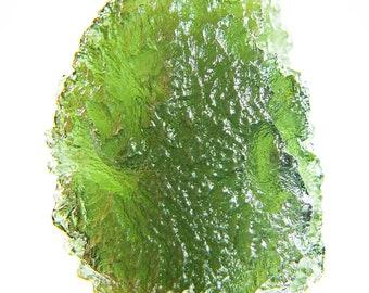 Big Moldavite quality A+/++ with CERTIFICATE