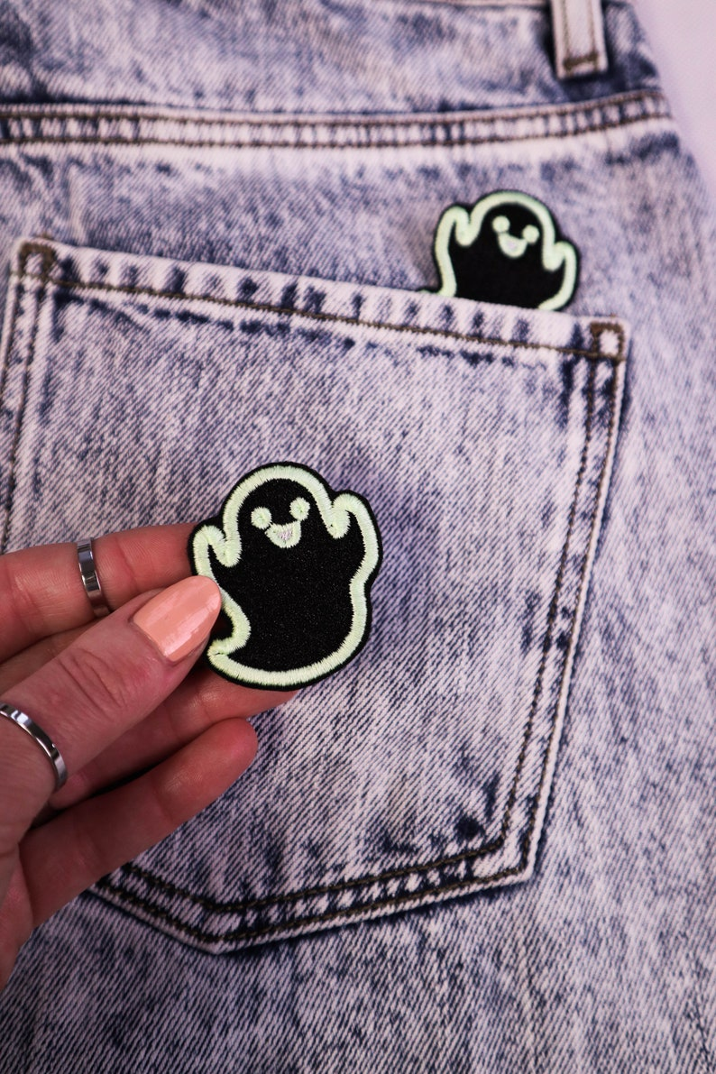 Ghost PATCH Glow in the dark!